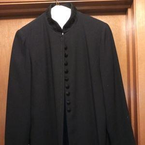 NWOT Lined Black Dress Jacket
